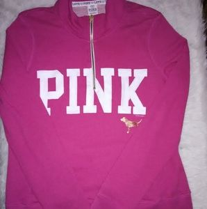 L PINK Size Large Sweatshirt Victoria Secret top